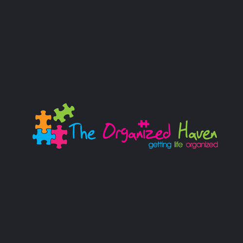 Logo Design for The Orgnized Haven, Professional Organizer