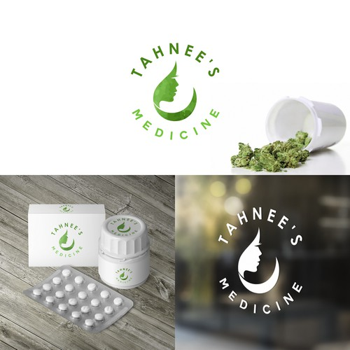Logo concept for medical marijuana
