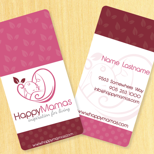 """Create the logo for Happy Mamas: """"Inspiration For Living"""""""