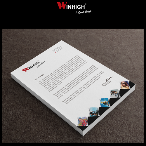 Design Letterhead, Spec Sheet, Business Card and Re-design Brochure for a adventurous company