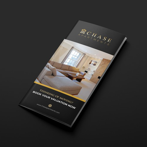 Designing a luxury document for Estate Agency