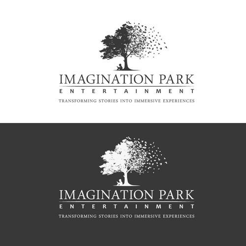 Imagination park Logo design