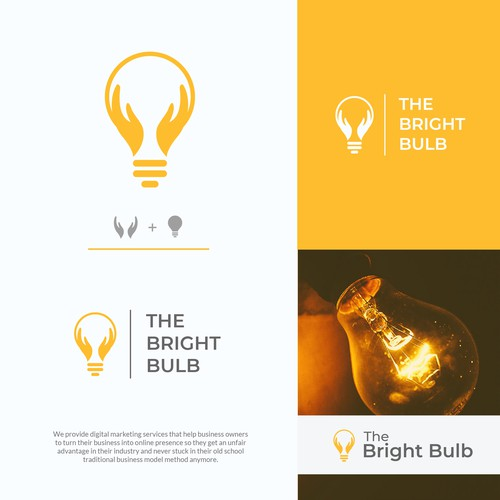 Logo for The Bright Bulb