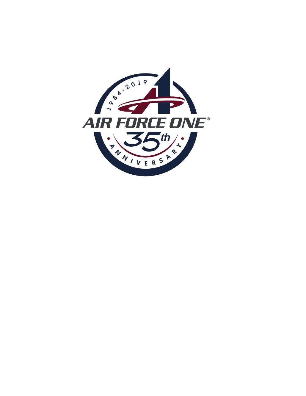Air Force One 35th Anniversary Logo