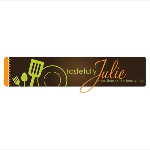 Create the next logo for TastefullyJulie.com