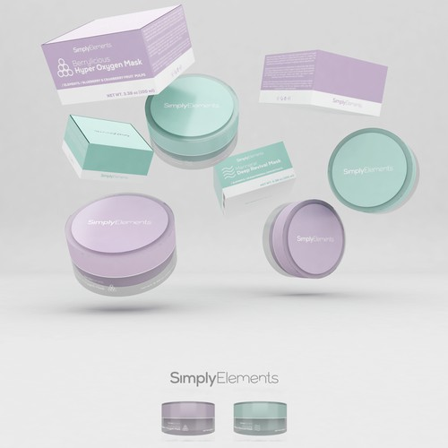 Simply Elements packaging.