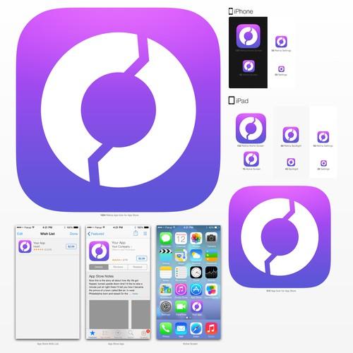 iOS7 App icon design for Unit Conveter