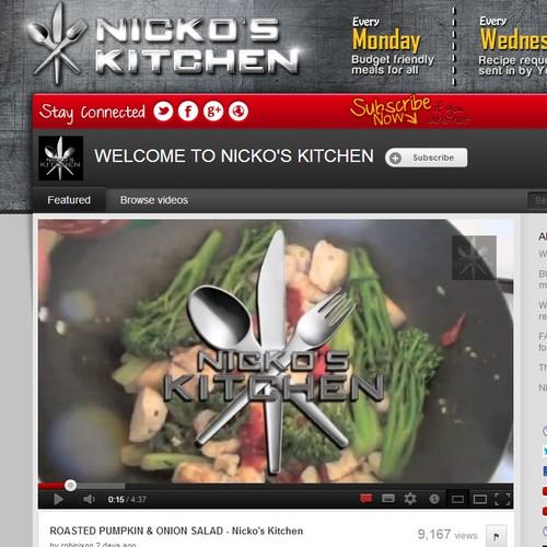 YouTube标题为尼诺厨房
