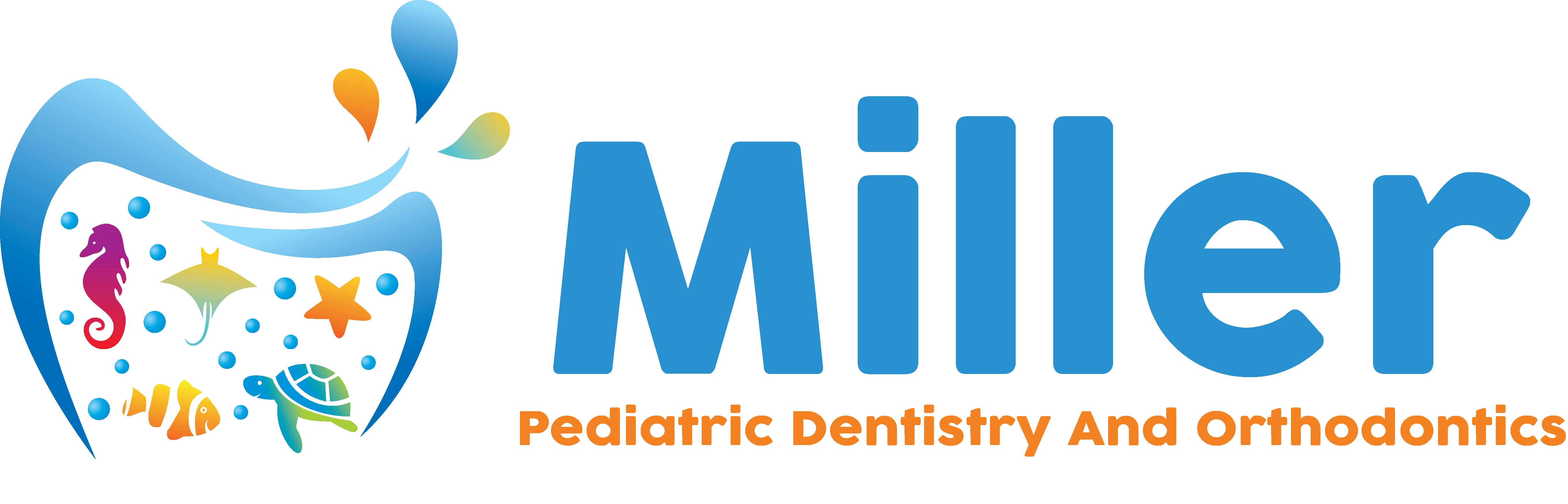 Design a fun ocean themed logo for a children's dental office