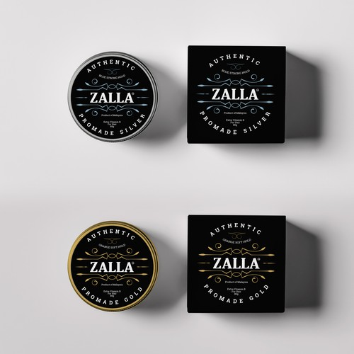 Product packaging for Zalla