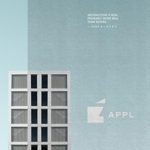 Apple circa 1950, Bauhaus-style