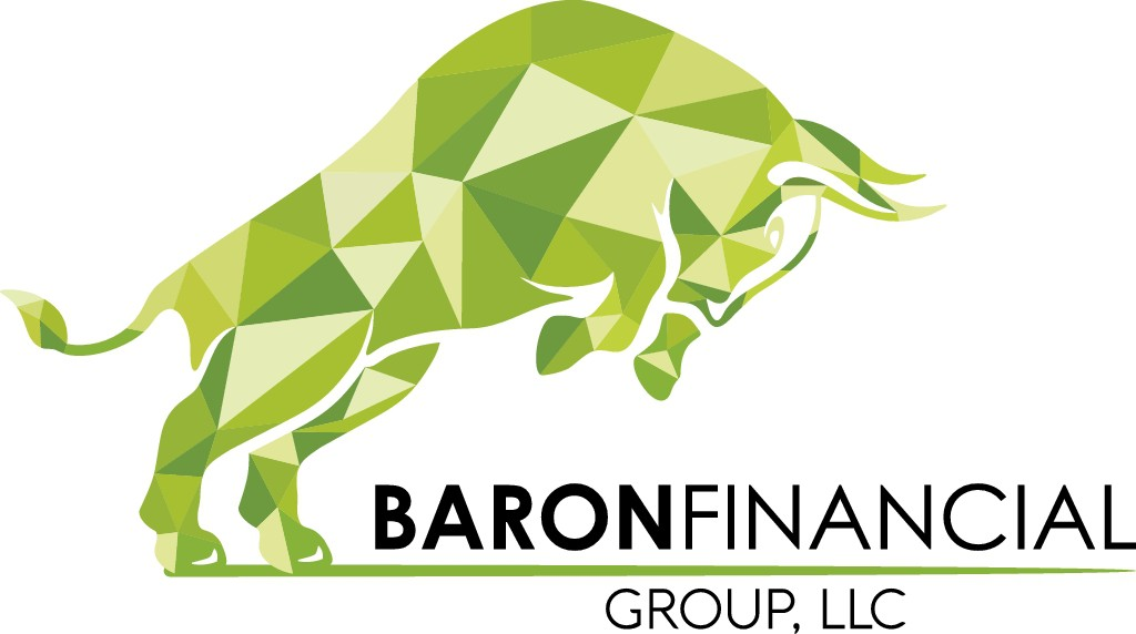 Design a fresh, clean logo for Baron Financial Group, LLC