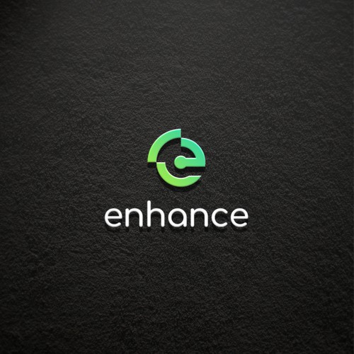 simple logo for enhance