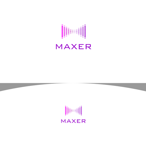 create a logo for Destroy traditional advertising and make a bold logo for Maxer