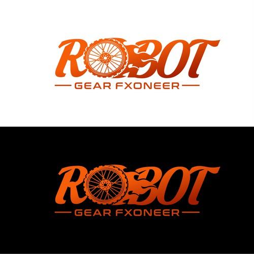 Sport Racing Concept for Robot Gear Fxoneer