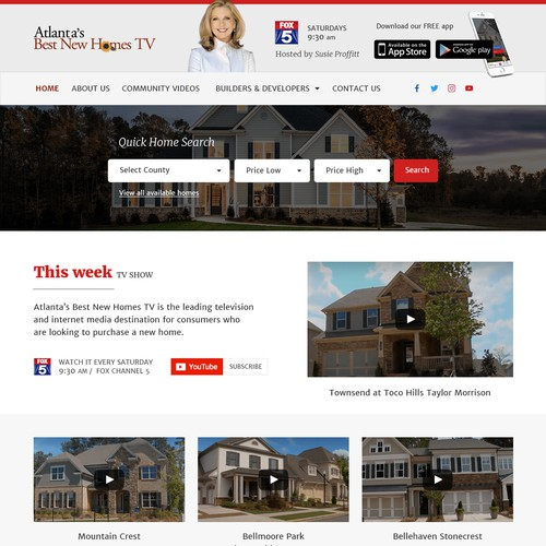 Wordpress theme for Real Estate tv show
