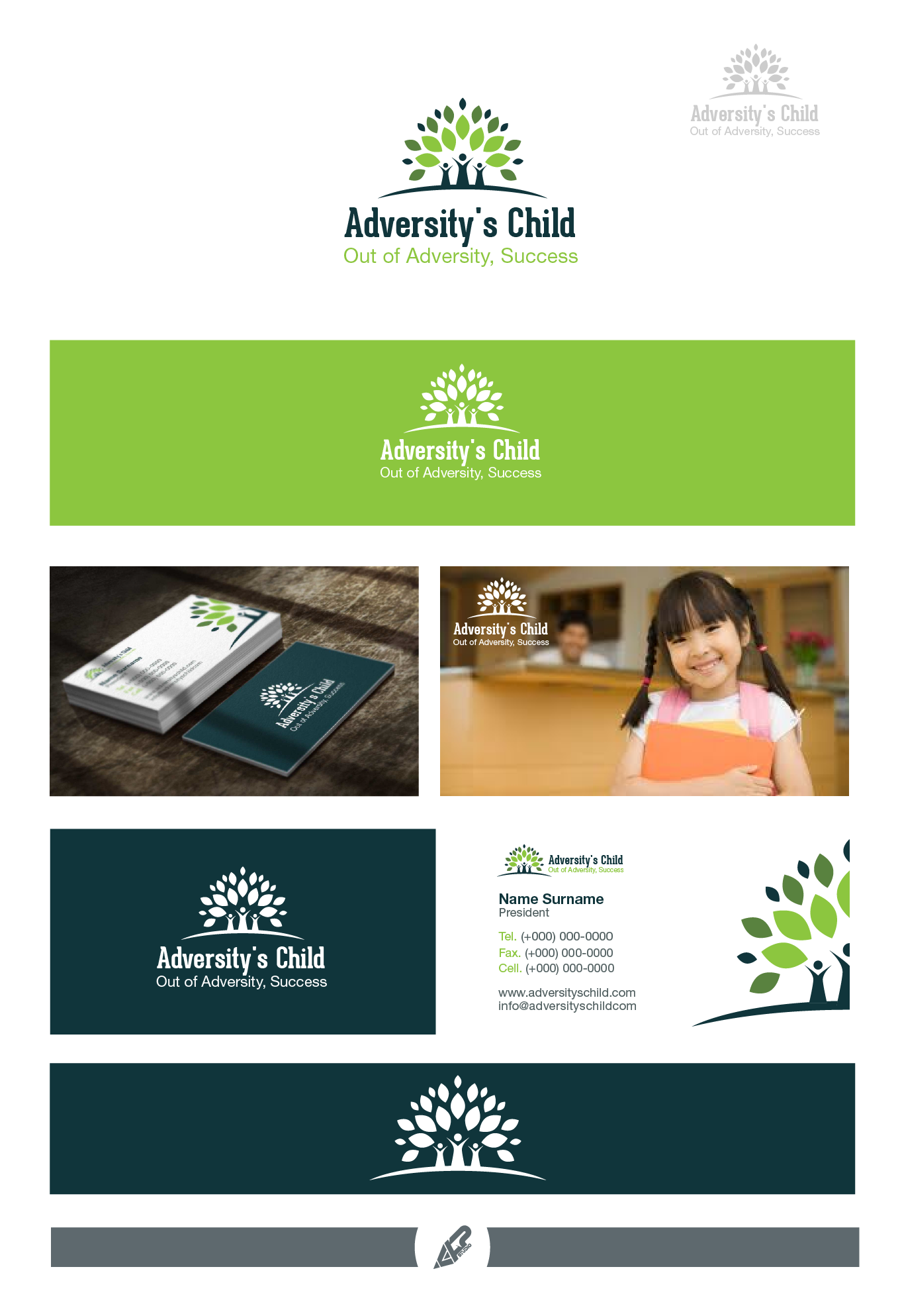 Help Adversity's Child with a new logo