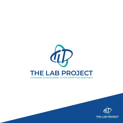 Logo design concept for The Lab Project contest.