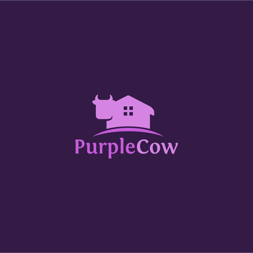 Purple Cow home logo