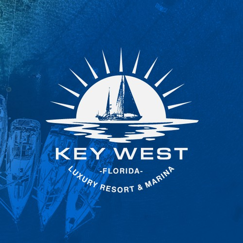 Logo concept for a Luxury Resort