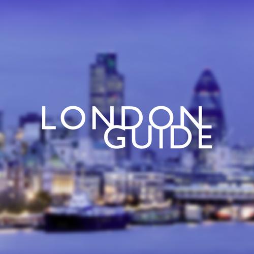 Bespoke wordmark for London Guide