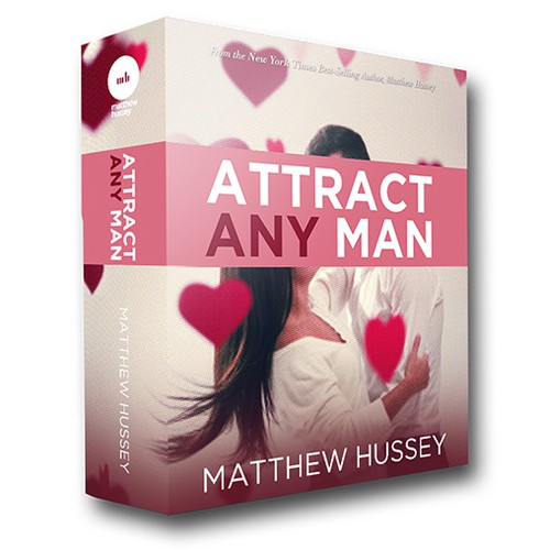 Create an ebook cover for a dating guide for women