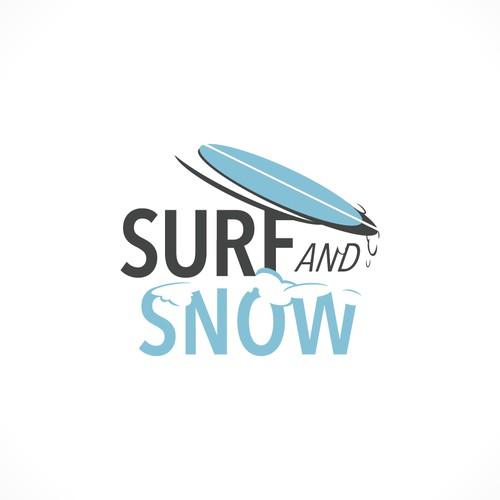 Surf and Snow Boardshop Logo