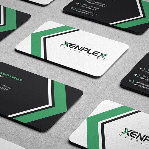 Create a modern eye-catching logo & business cards for an IT consulting company