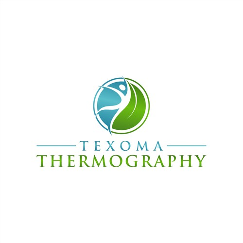 Create a standout logo and wording for Texoma Thermography
