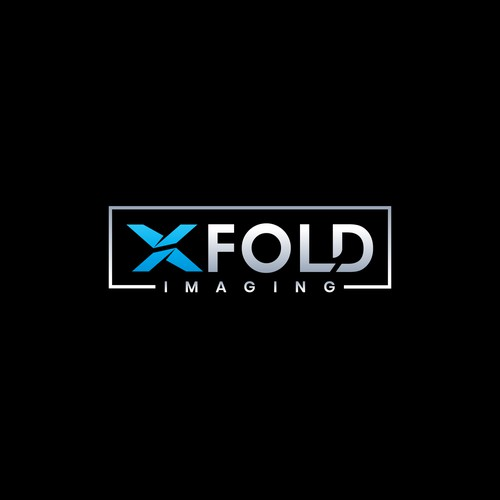 Awesome logo for X FOLD IMAGING.
