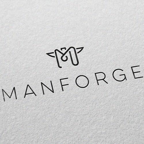 Logo for men's fashion company Manforge