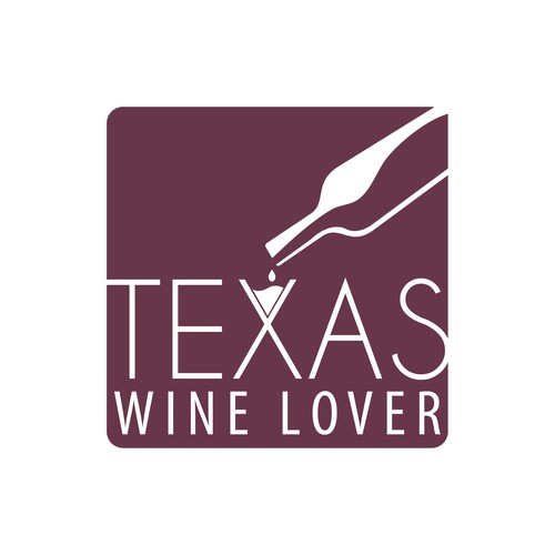 Create a logo for an award winning wine blog for use throughout social media