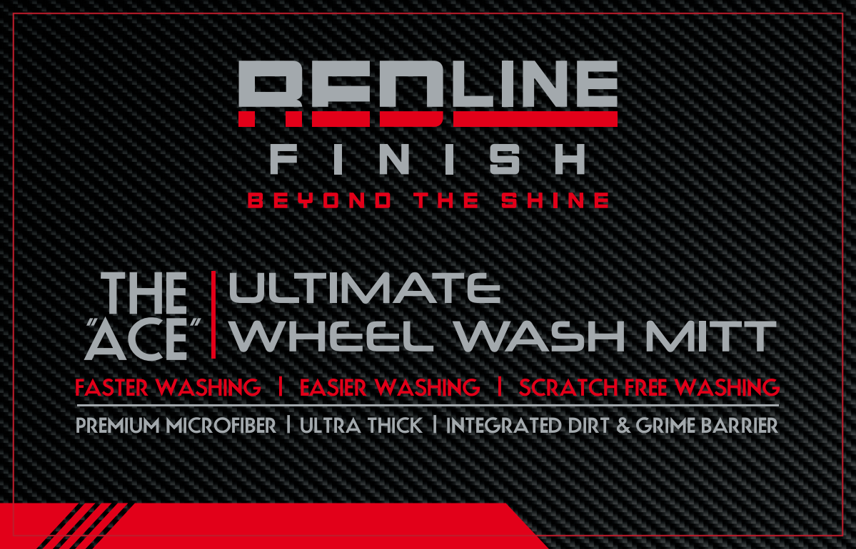 Redline Finish New Product Label & Updated Previous Product Label