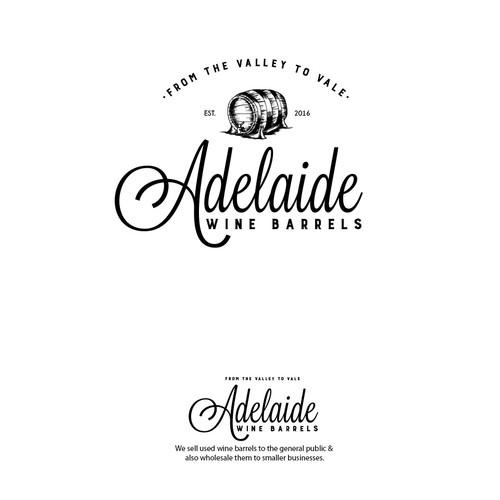 Adelaide Wine Barrels Logo