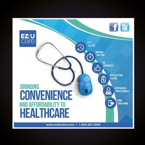 Help disrupt healthcare. Top design needed now!