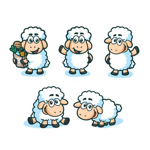 Farm Fresh Web Mascot Design