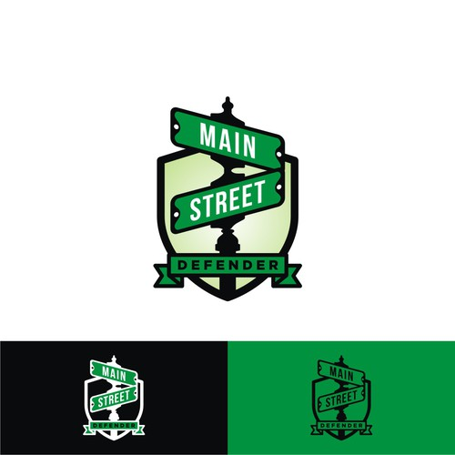 Logo for Main Street Defender