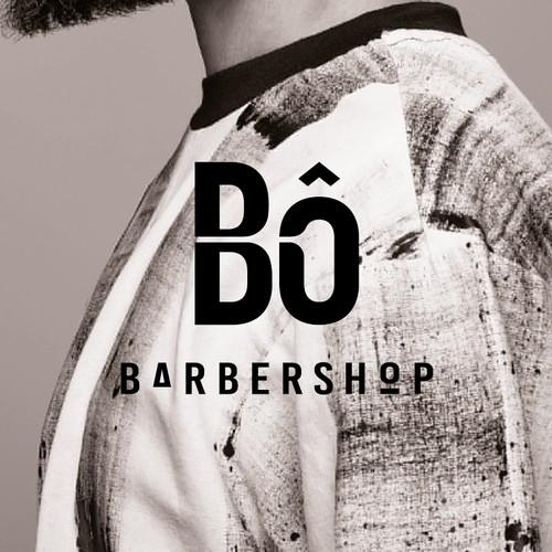Modern Barbershop Logo