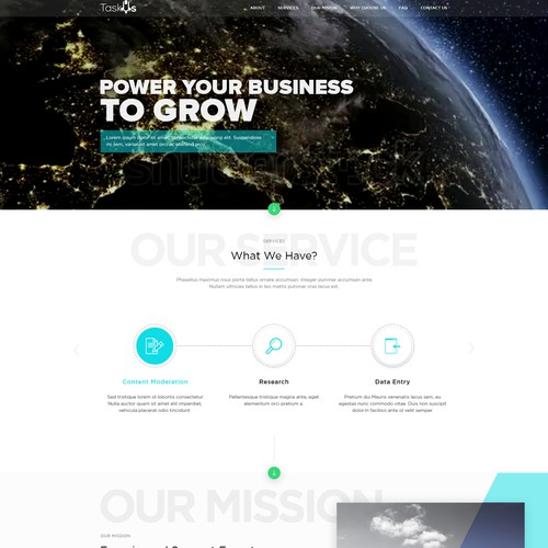 Minimal Business Website