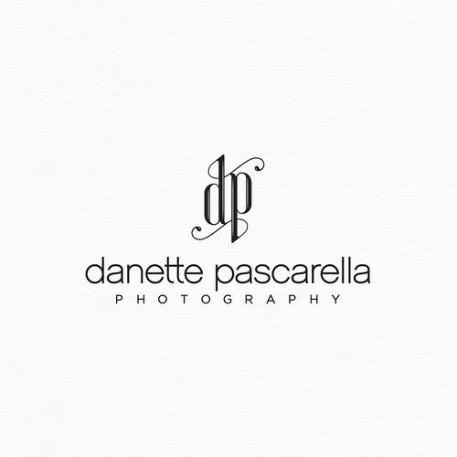 Create a fancy, professional, and delicious design for Danette Pascarella Photography.