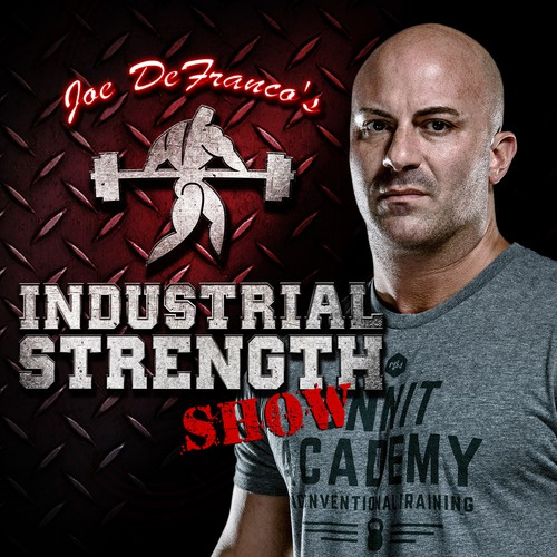 Create a podcast logo for world-renowned trainer of NFL & WWE athletes!