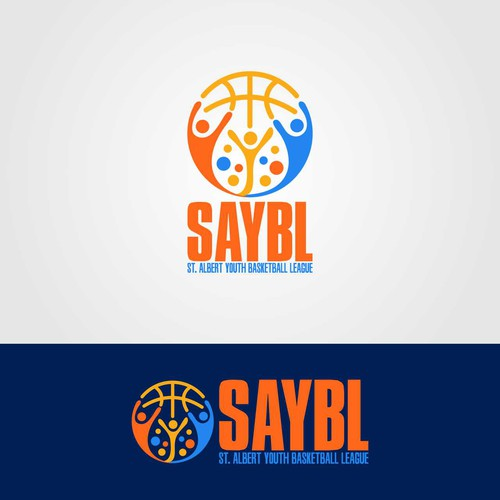 Fun Abstract Logo for Sports League