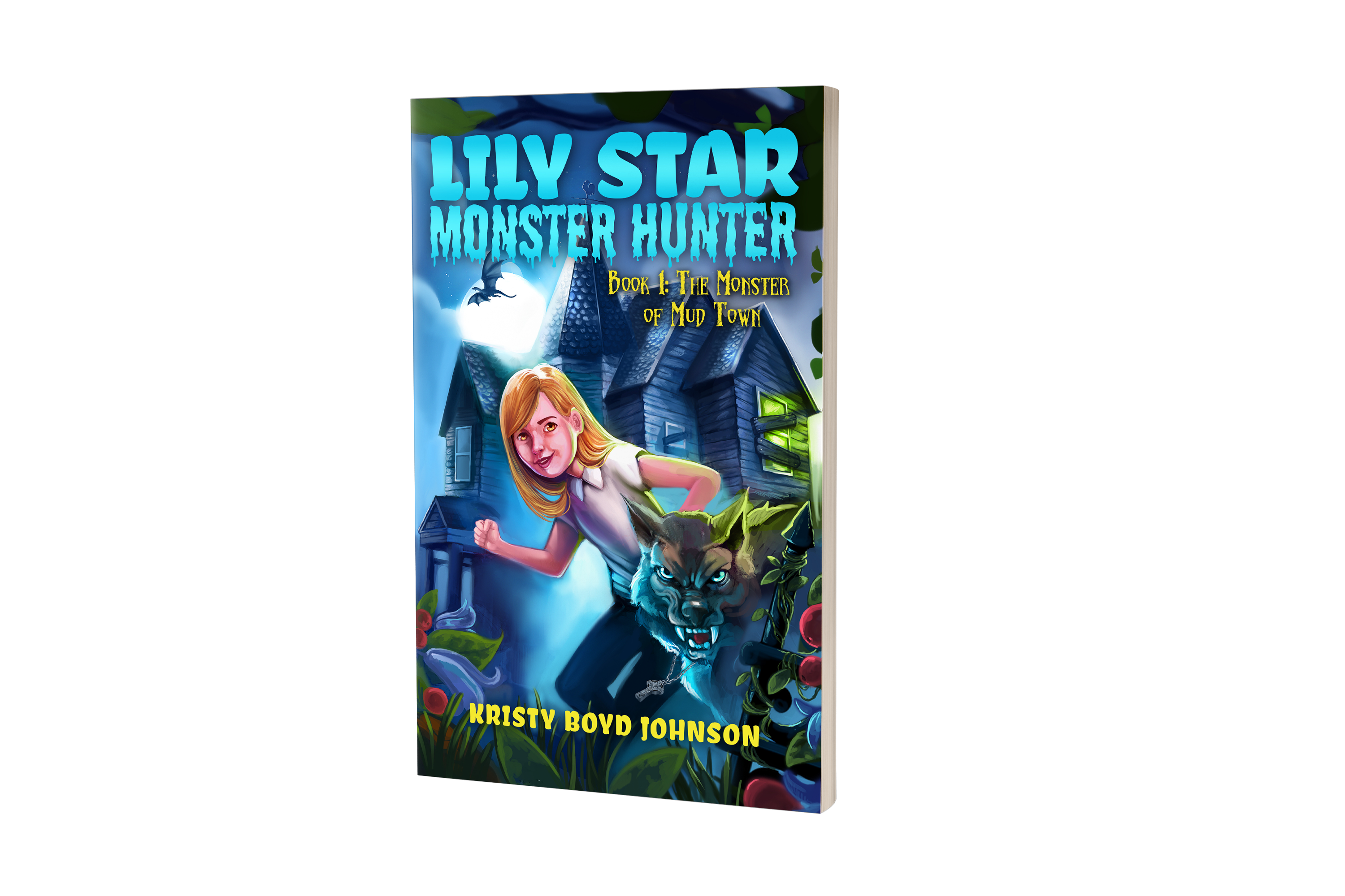 Lily Star, Monster Hunter book art design and cover