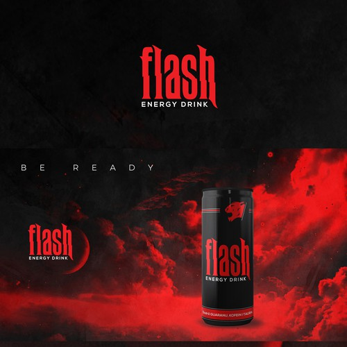 Flash Energy Drink | Be ready