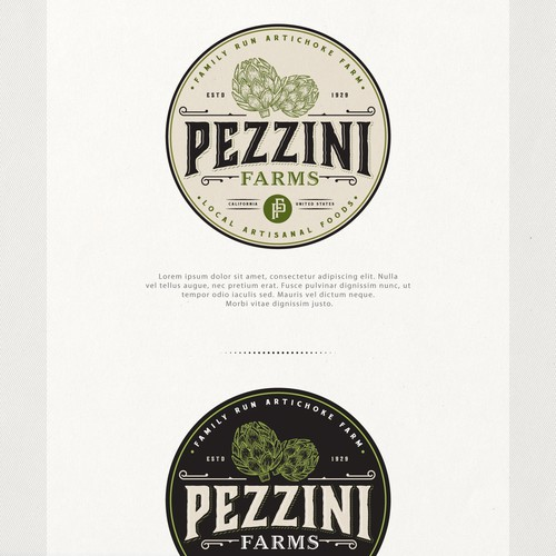 Logo for Pezzini Farms