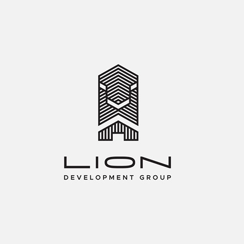 Logo for 'Lion' Real Estate Developers