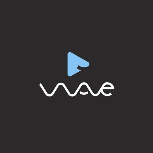 Wave Video Logo Concept
