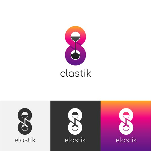 Beautiful logo for stretching timer app