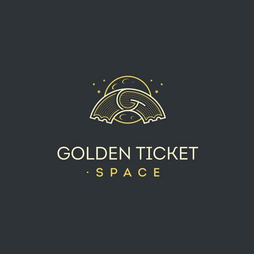 Logo design for GoldenTicket.space