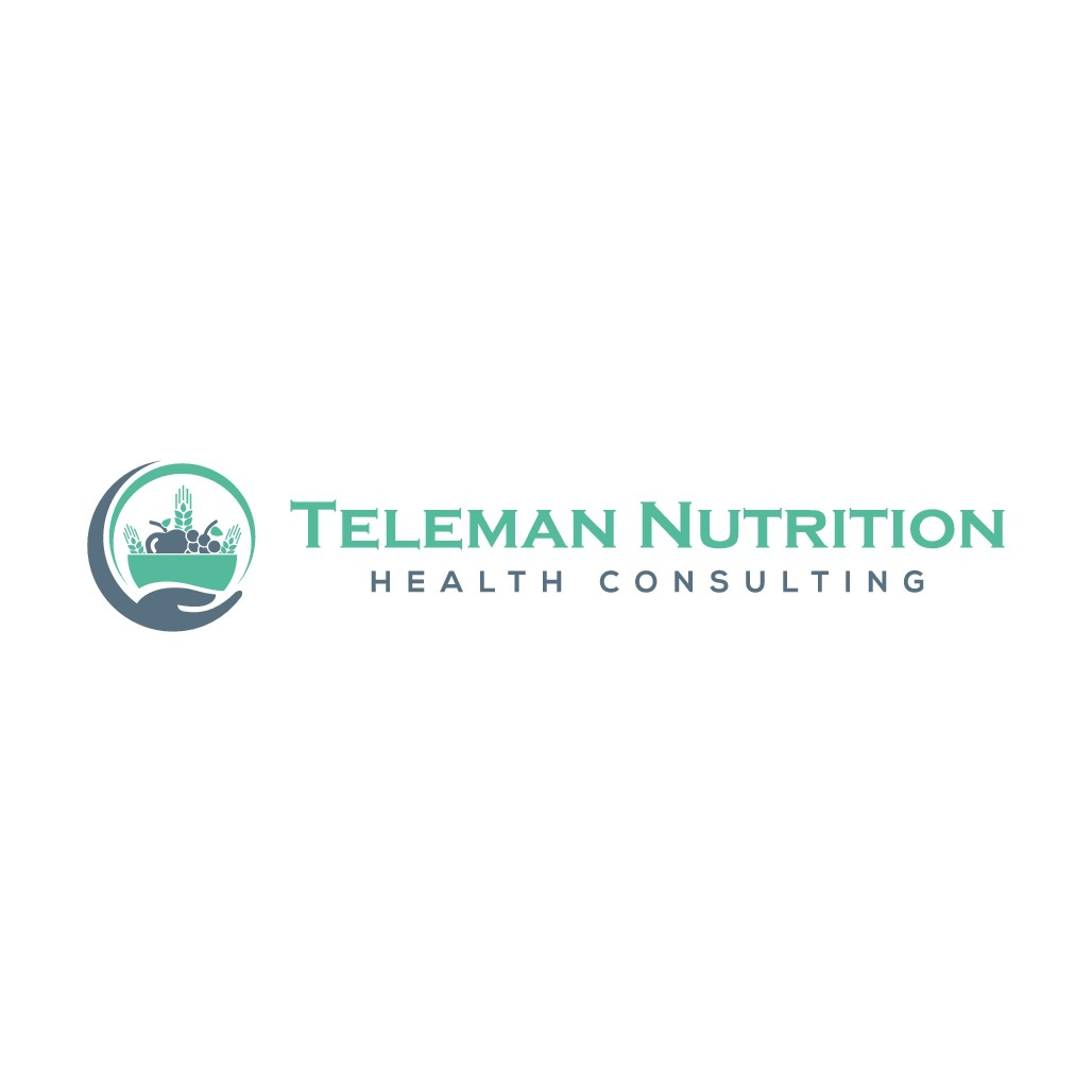design a modern, professional, creative and sophisticated logo for Teleman Nutrition.